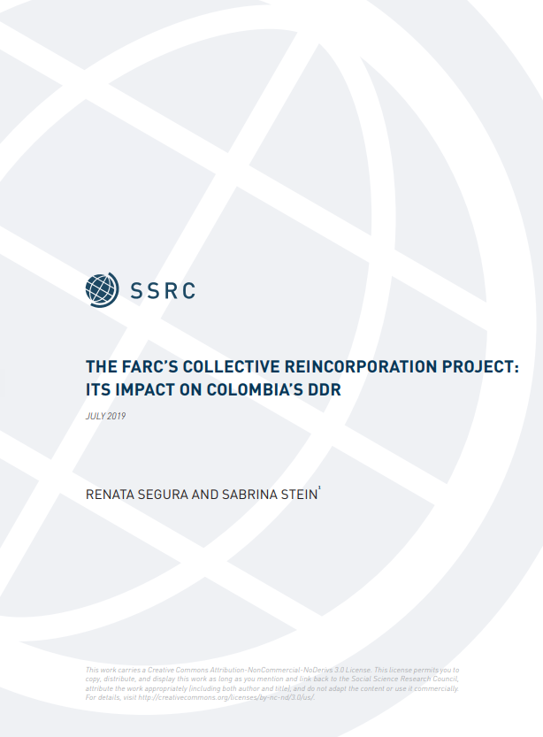 Conflict Prevention and Peace Forum (CPPF) | Social Science Research