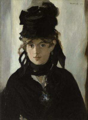 Edouard Manet, Berthe Morisot with a Bouquet of Violets (Musée d'Orsay, Paris) | Public Domain