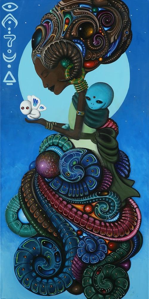 "Paul Lewin, ""Omarosa"" (2011) | Image used with permission of artist"