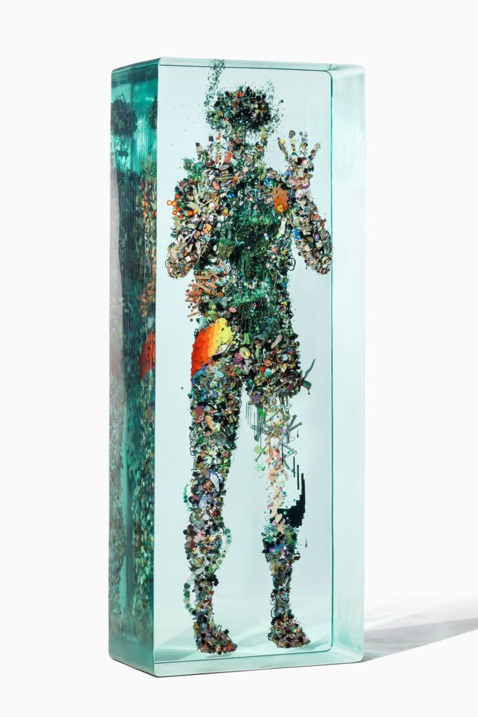 "Dustin Yellin, ""Psychogeography 43,"" 2014. Used with permission of the artist. All rights reserved."