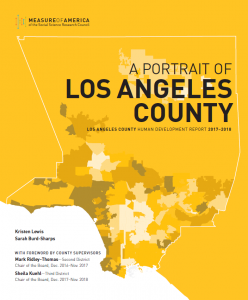 Map Of America Los Angeles.A Portrait Of Los Angeles County Measure Of America A Program Of