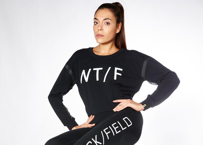 Nike Women T/F Cropped Crew Top