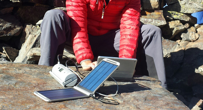 Powertraveller SolarMonkey Expedition Portable Charger