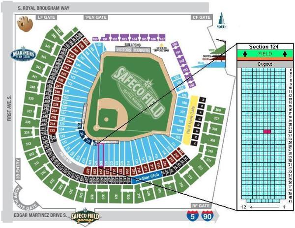 Ticket Sharing @ Safeco Field   Seattle Mariners