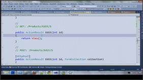 Building a data driven website with Entity Framework