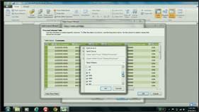 02: Importing Data into PowerPivot