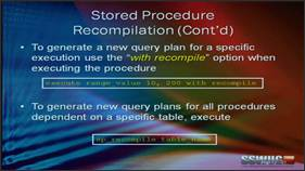 Stored procedures best practices, including performance and nested transactions