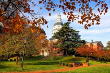 Visit the Annapolis Capital Building (Pic)