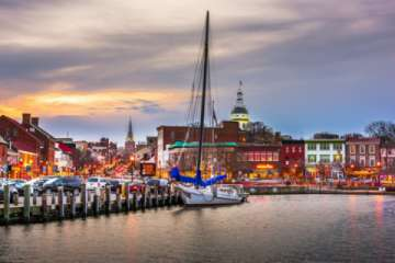 The world-renowned Annapolis Waterfront (Pic)