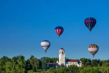 Spirit of Boise Balloon Classic every September in Boise - a must see! (Pic)