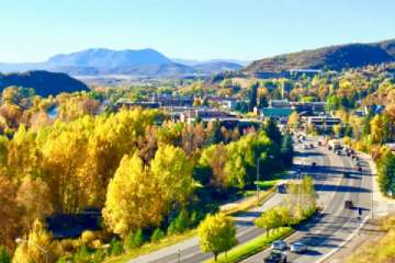 Downtown Steamboat in the fall. (Pic)