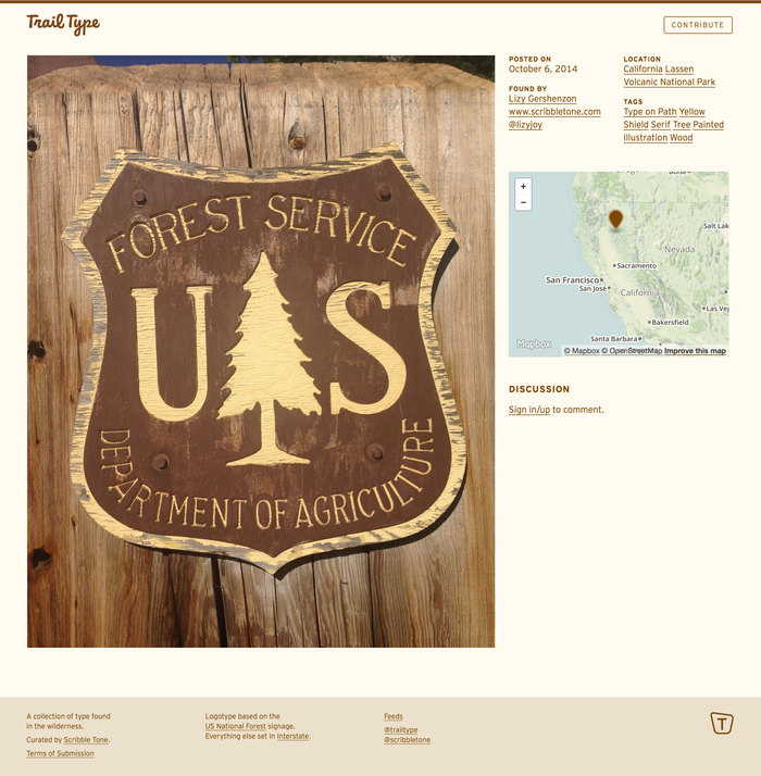 Trail Type Detail Page