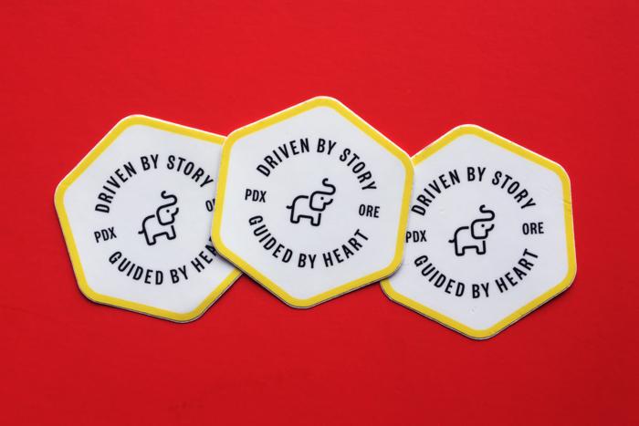 Badge Stickers