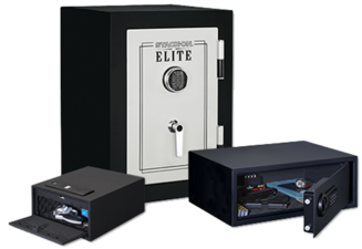Stack-On Strong Box Personal Safes with Electronic Locks are DOJ approved