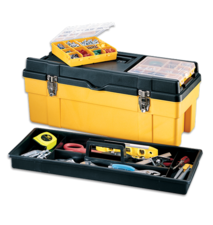 Stack-On Professional Plastic Tool Boxes are Built For the Pro and Serious DIYer.