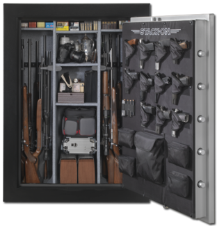Stack-On | Products | 54-Gun Safe with Electronic Lock and Electrical Socket