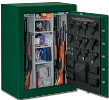 Stack-On | Products | 48-Gun Safe with Electronic Lock and Door Storage