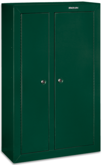 Stack on products 10 gun double door steel security for 10 gun double door steel security cabinet