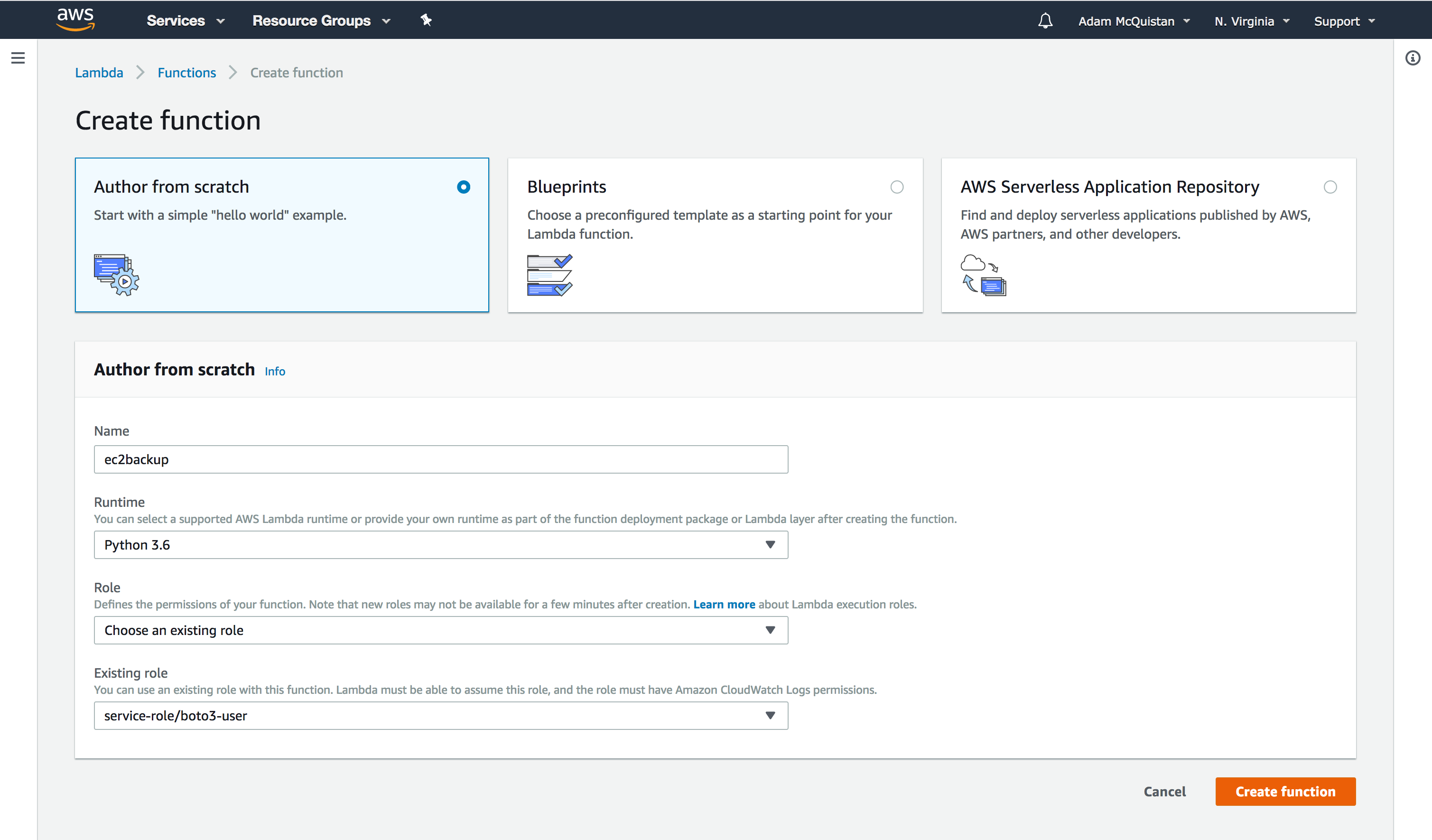 Automating AWS EC2 Management with Python and Boto3