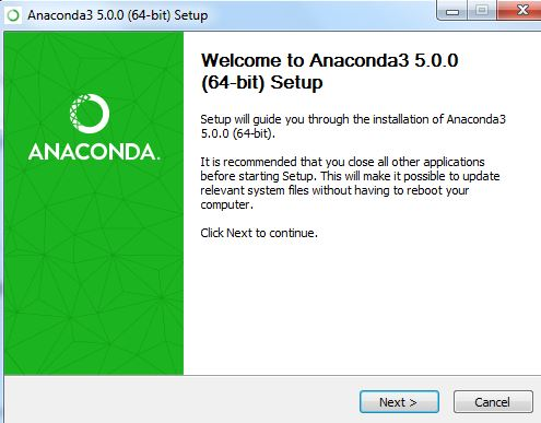 Welcome to Anaconda