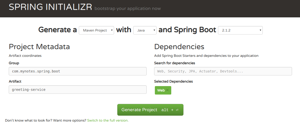 Spring Boot: Configuring Properties
