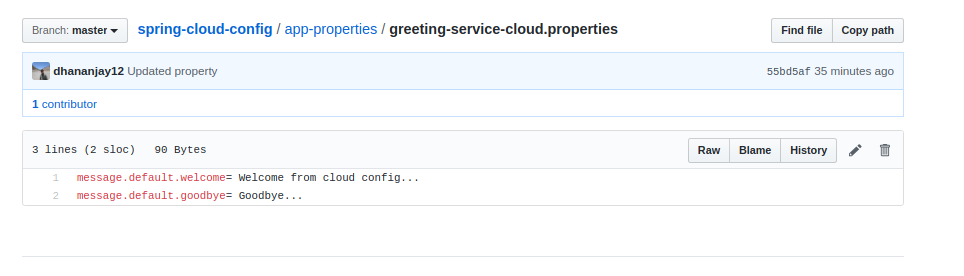 greeting service cloud