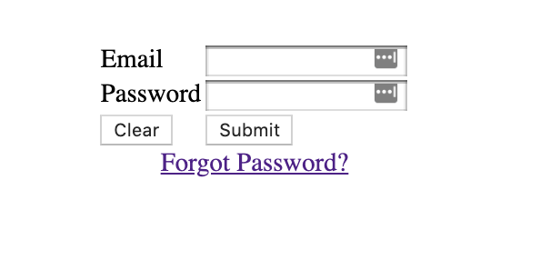 Spring Security: Forgot Password Functionality