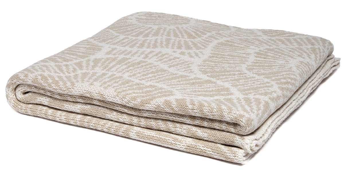 Poppy Flax/Milk-  <a href='https://www.in2green.com/collections/stacy-garcia-collection/products/eco-poppy-throw' style='text-decoration: underline;'>Where to Buy</a>