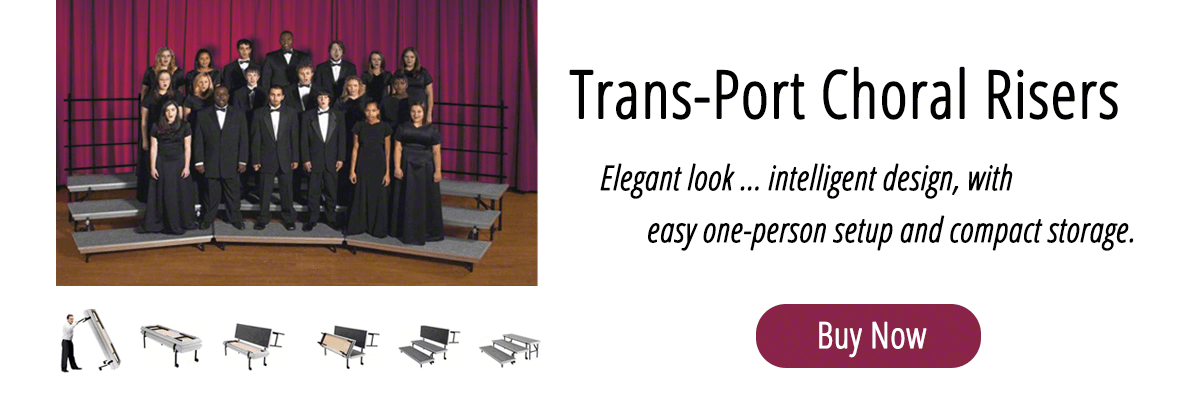 Trans-Port Choral Risers