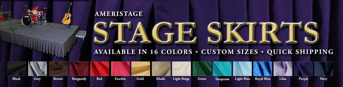 AmeriStage Stage Skirts