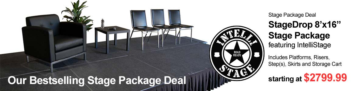 StageDrop 8x16 Stage Package Deal