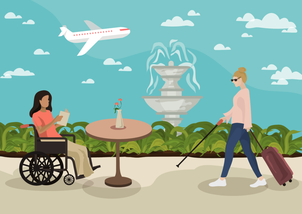 Accessibility illustration