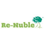 Re nuble logo med transparent