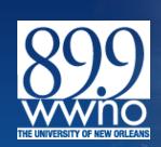 The University of New Orleans Public Radio