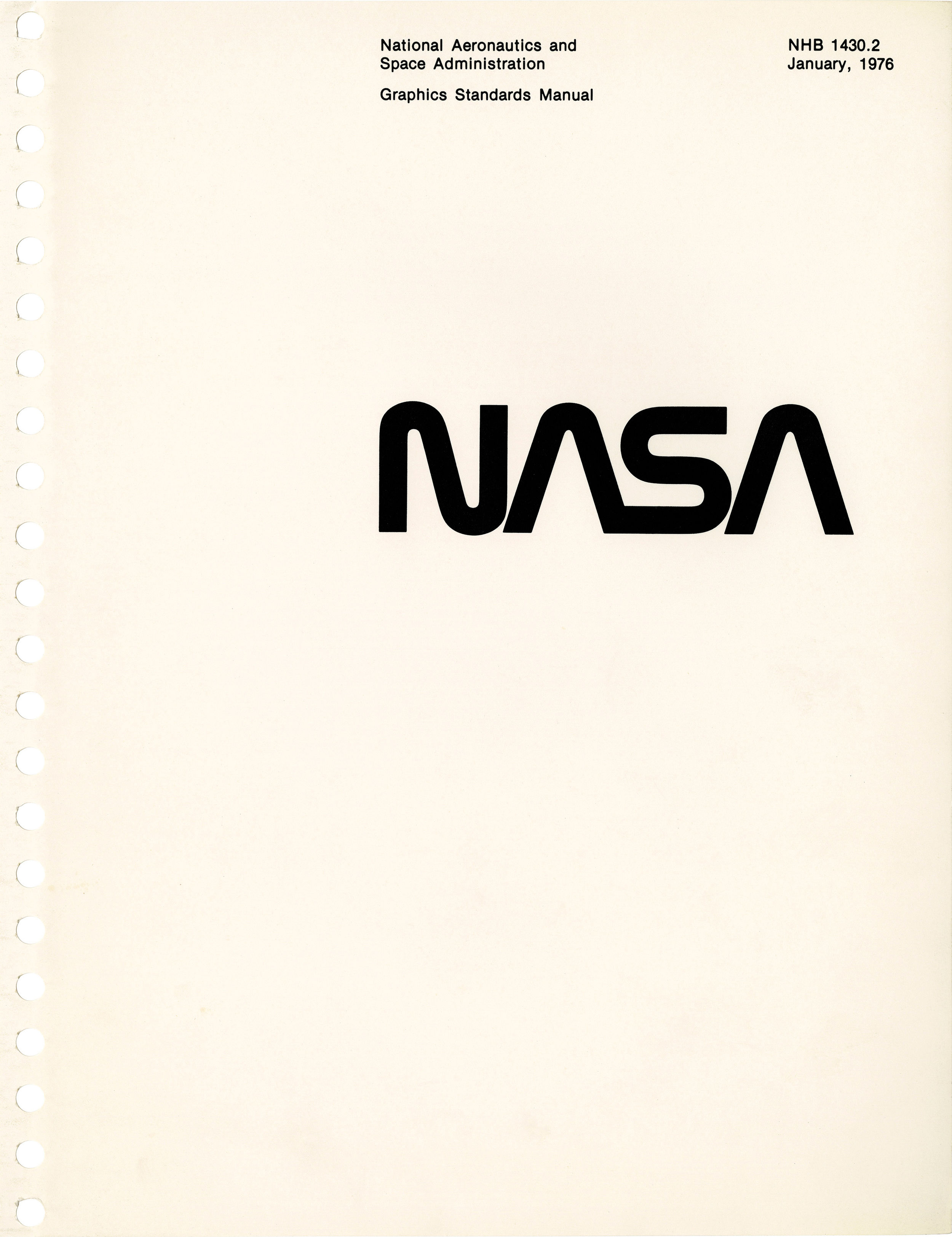 NASA publications manual