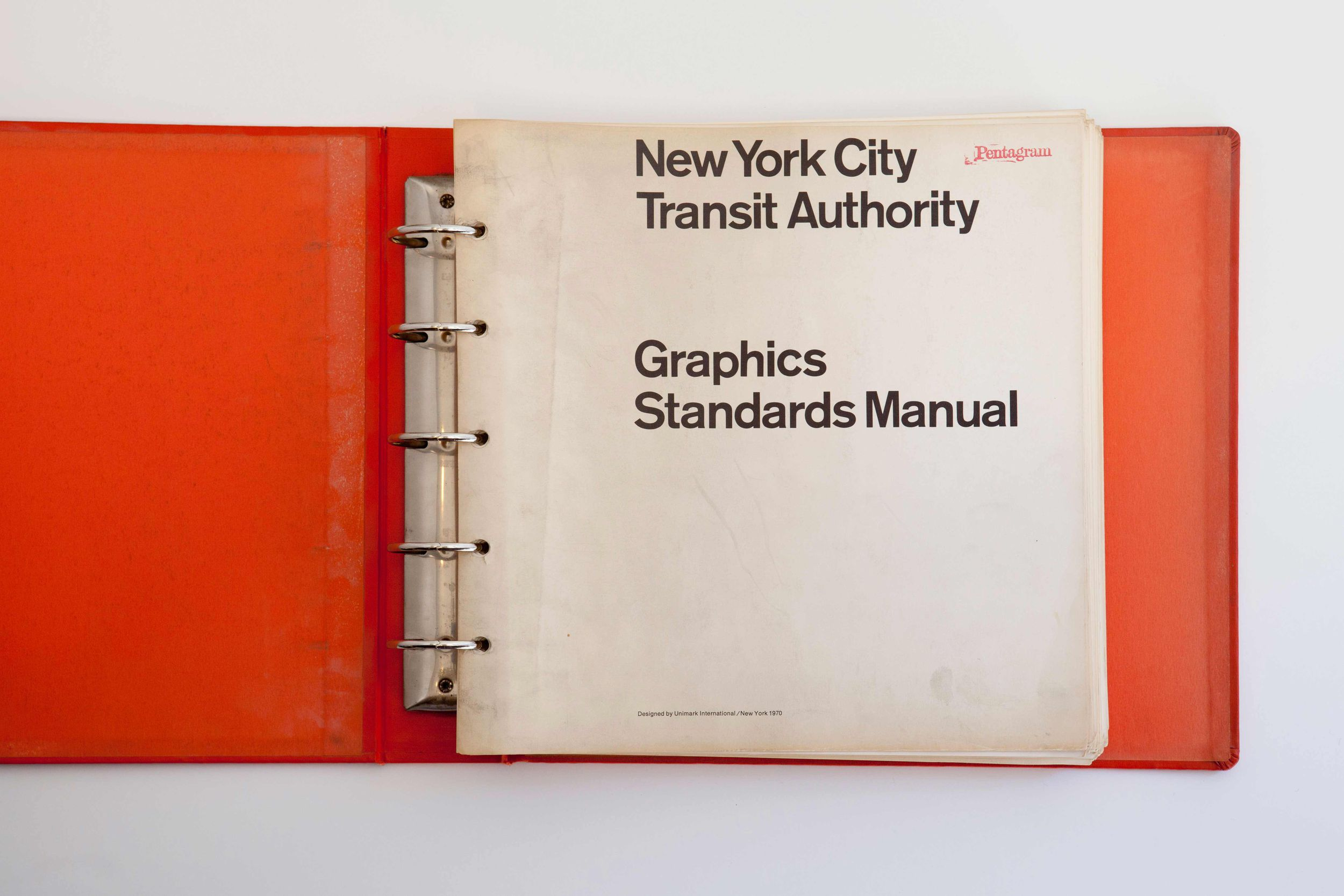 New York City Subway Map In The 1970s.Nycta Graphics Standards Manual Compact Edition