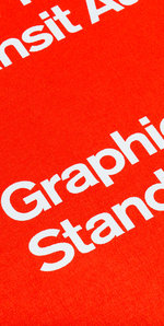 NYCTA Standards Graphics Standards Manual reissue cover detail
