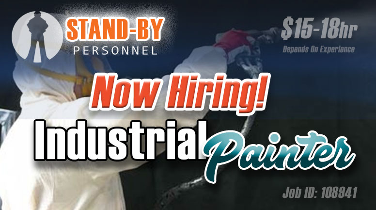 Industrial Painter poster
