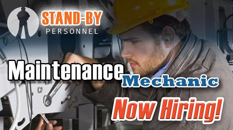 Maintenance Mechanic poster