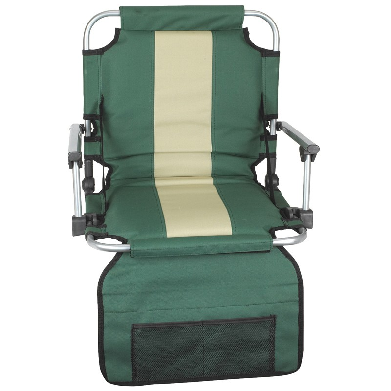 EZ Stadium Seat With Arms - Green /Tan Stripe at Sears.com