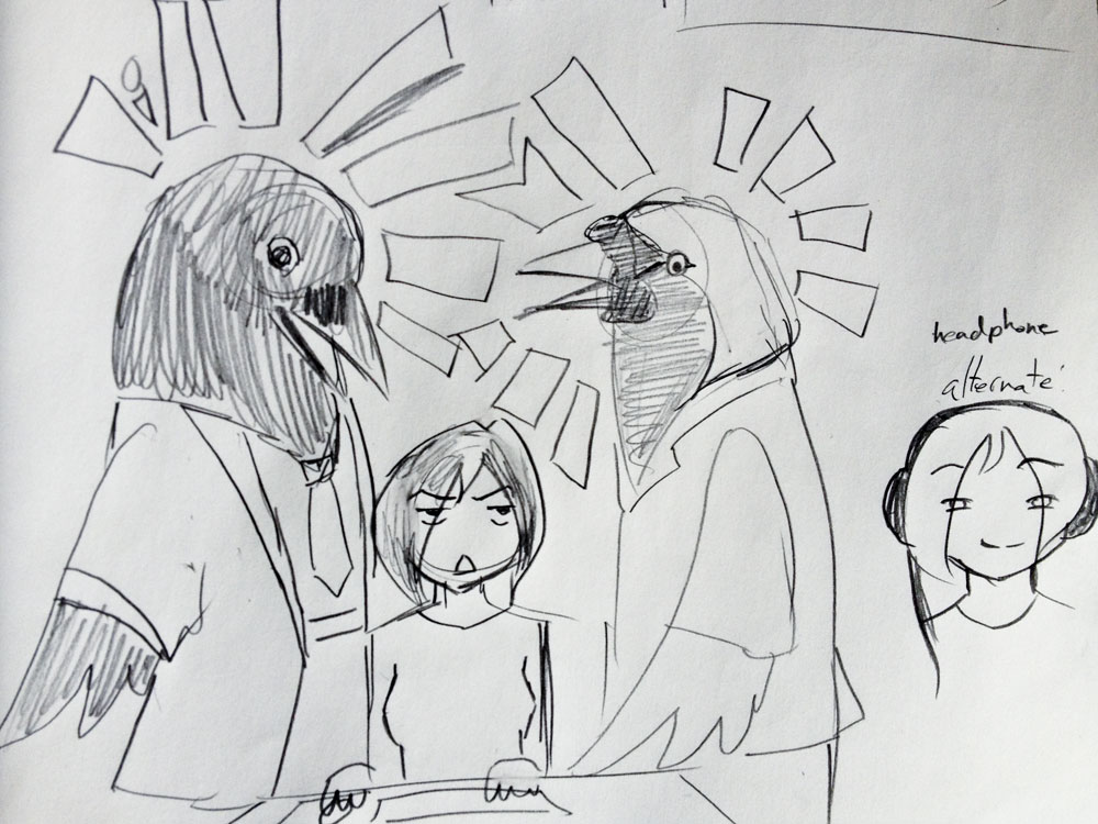 Office with Birds - image 1 - student project
