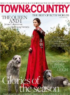 Jenna Coleman Plays Victoria For the Cover of Town & Country UK