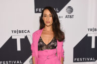 The Curious Case of Maggie Q's Pants