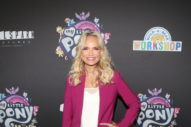 Kristen Chenoweth's Boots Go Nearly to Her Chin