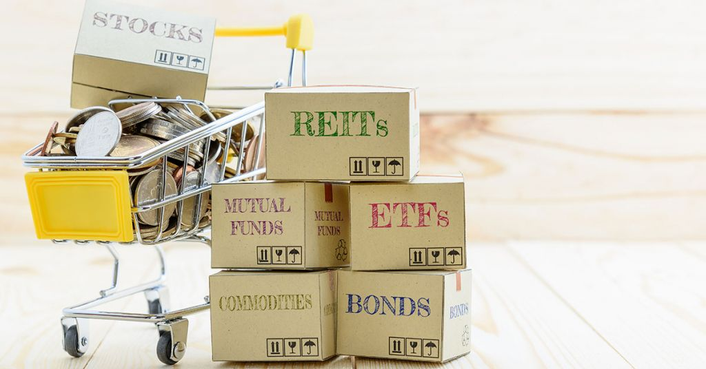 Types of investment, stocks and ETFs