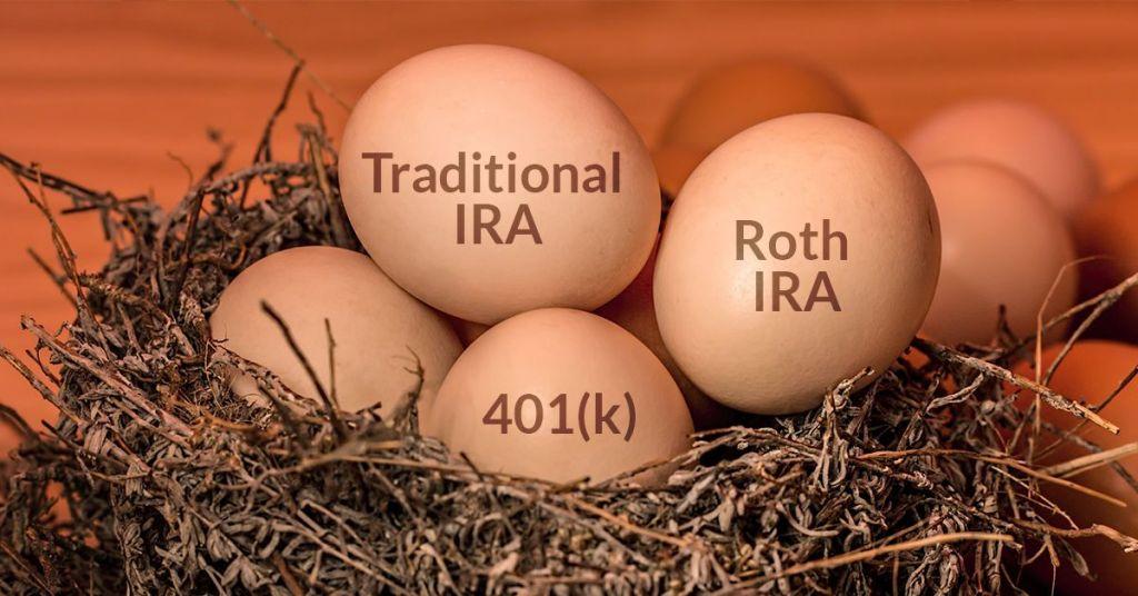 Rollover 401k, Roth IRA v. traditional IRA