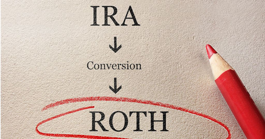 Traditional to Roth IRA conversion