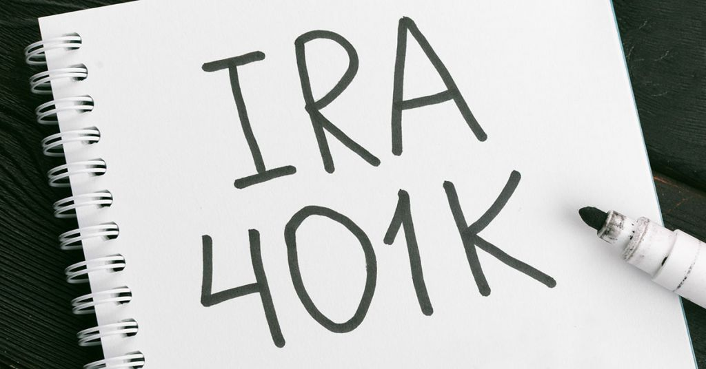 IRA compared to 401k