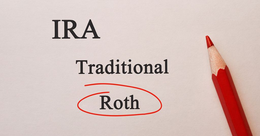 Roth vs. traditional IRA
