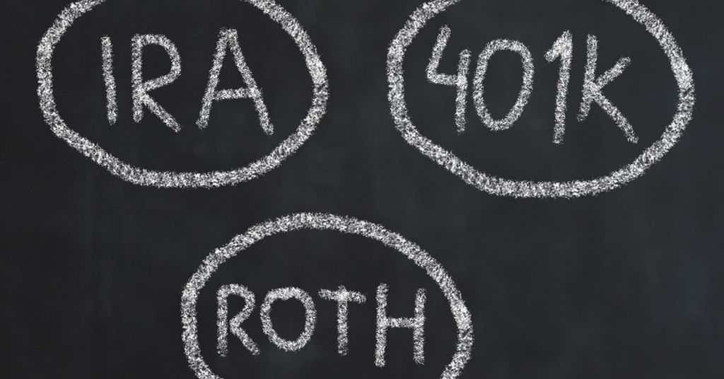 401k vs ira vs roth ira